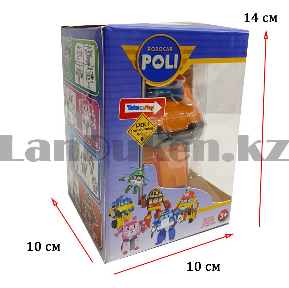 Трансформер игрушечный из серии Робокар Поли и его друзья для детей Марк 11,5 см - фото 2