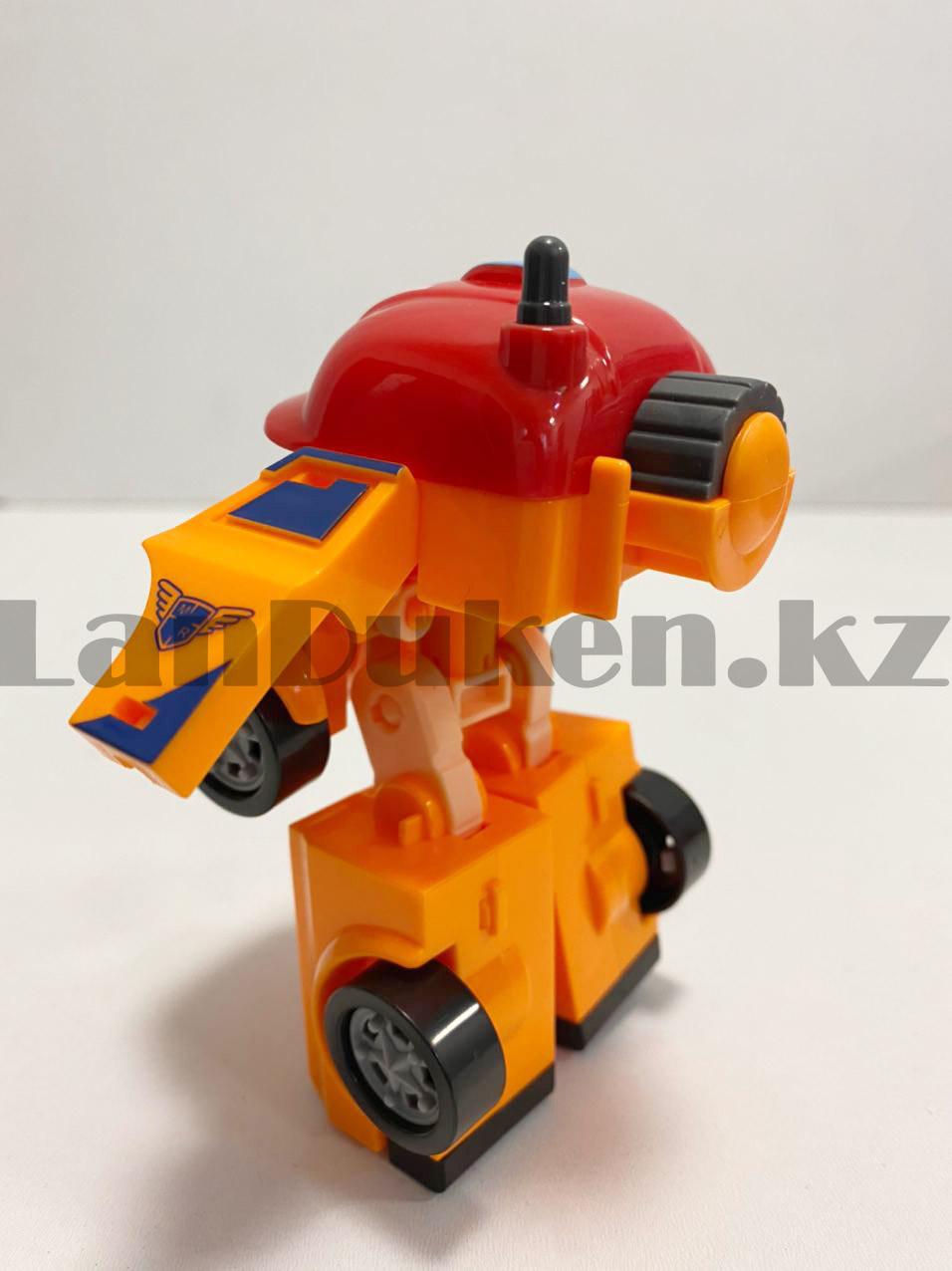 Трансформер игрушечный из серии Робокар Поли и его друзья для детей Марк 11,5 см - фото 5