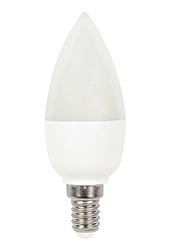 Лампочка светодиодная C37 6W NEW 470LM E14 6000K175-265V (ECOL)