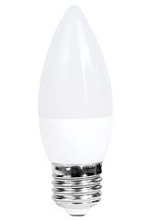 Лампочка светодиодная C37 6W NEW 520LM E27 6000K 175-265V (ECOL)