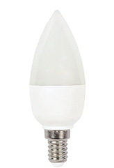 Лампочка светодиодная C37 6W 470LM E27 2700K (ECOLITELED)