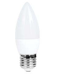 Лампочка светодиодная C37 6W NEW 470LM E27 6000K175-265V (ECOL)
