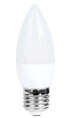 Лампочка светодиодная C37 6W 470LM E27 6000K (ECOLITELED)