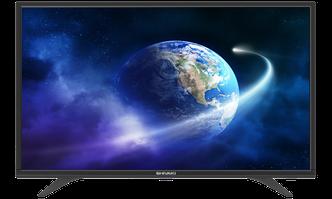 Телевизор Shivaki LED US 43 H1400 SMART/ANDROID (ЧЁРНЫЙ)