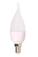 Лампочка LED CANDLE C37 6W NEW 470LM E14 3000K (ECOL)