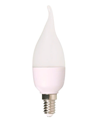 Лампочка LED CANDLE C37 6W 470LM E14 5000K (ECOL)