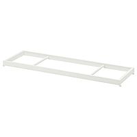 Штанга платяная КОМПЛИМЕНТ белый 100x35 см ИКЕА, IKEA