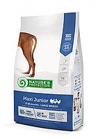 457295 Nature s Protection Maxi Junior, корм для щенков крупных пород, уп.12 кг.