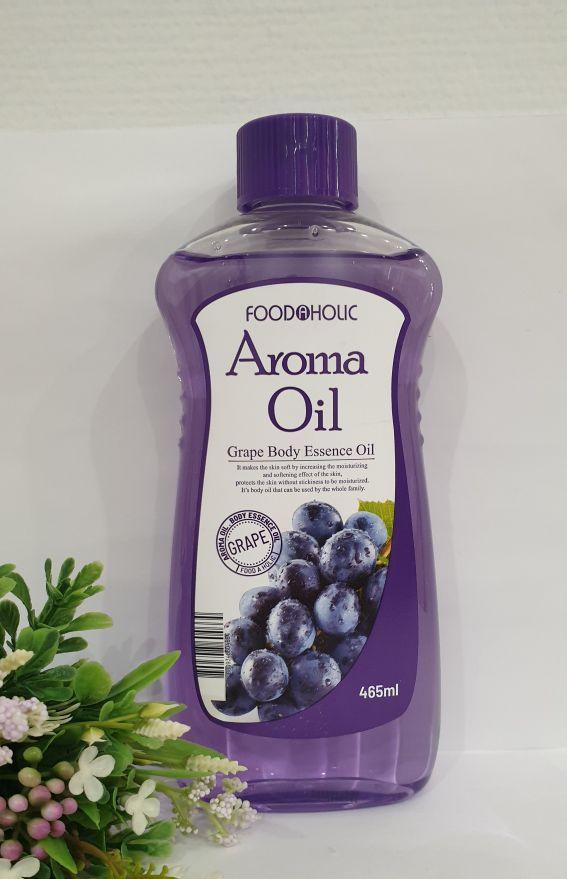 Эссенция-масло для тела Aroma Grape Body Essence Oil 465 мл.