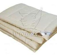 "Одеяло шерсть Мериноса ""Mogza"", 140х205, чехол: 100% хлопок (осень-зима)"