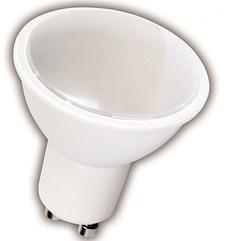 Лампа светодиодная GU10 5W 5000K 420LM 230В