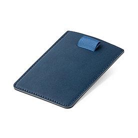 Визитница с защитой RFID, синяя