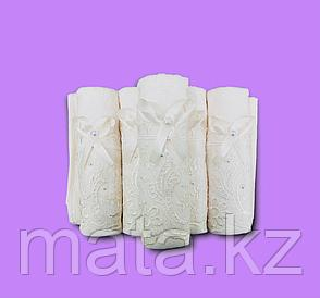 Набор полотенец с кружевом, фото 2