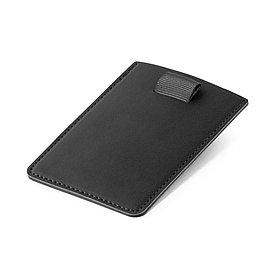 Визитница с защитой RFID, черная