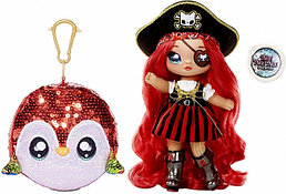 NA! Na! Na! Surprise - мягкие куклы с животным-помпоном-сумочкойКукла Пират Pirate Becky Buckaneer  от MGA