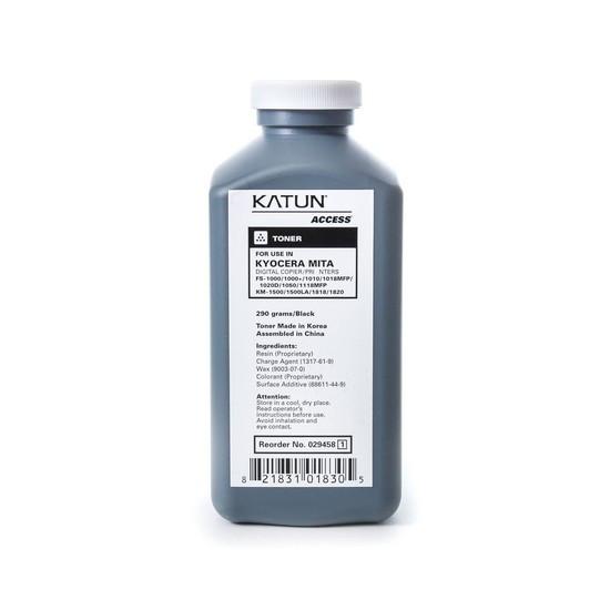 Тонер, Katun, FS-1000 (290 гр), Для принтеров Kyocera FS1000/1000+/1010/1050, 290 гр.