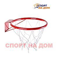 Баскетбольное кольцо с сеткой диаметр (30см)