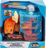 Hot Wheels: City. Игровой набор Магазин мороженого