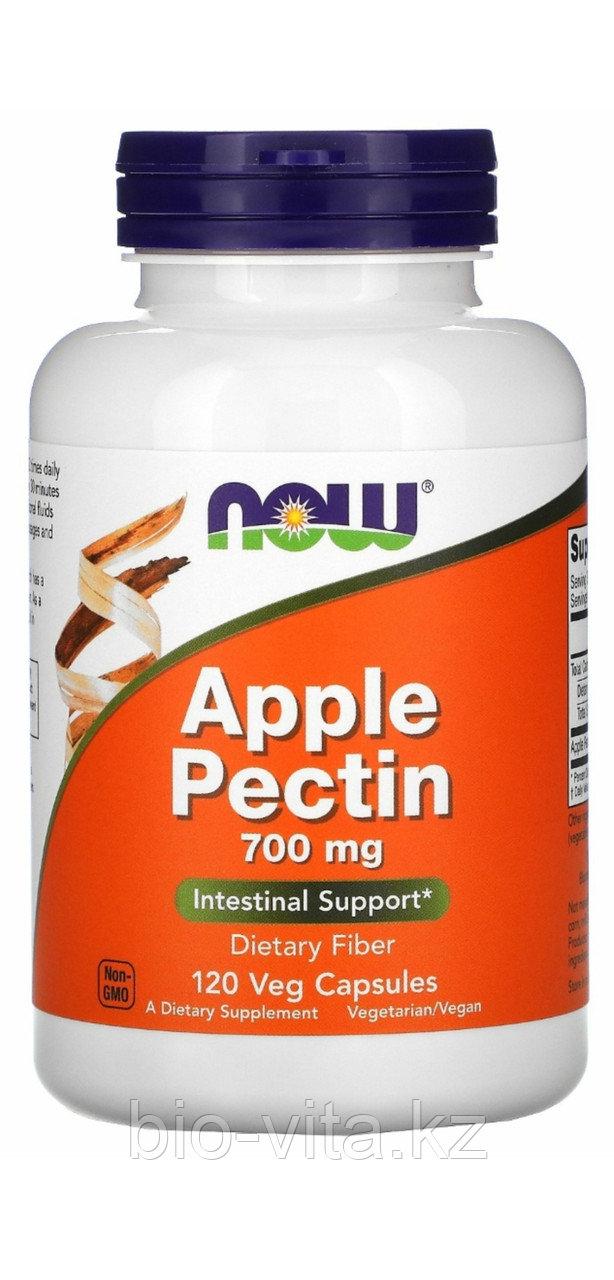 Яблочный пектин. 700 мг.120 капсул. Now foods.