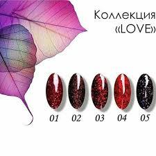 "Коллекция ""LOVE"" ТМ ""Serebro"""