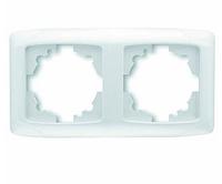 CARM BZ 2LI DIKEY CERC (Рамка для розеток и выключателей горизонтальная)