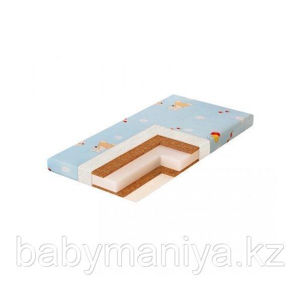 Матрас детский в кроватку Plitex ЮНИОР ПЛЮС КОКОС (119х60х8см)