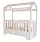 Кроватка-домик «WOODEN BED»-5 спальное ложе 160 * 80 см, высота 160 см, фото 7