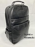 """Городской рюкзак """"Cantlor"""" из экокожи.Высота 39 см, ширина 27 см, глубина 16 см., фото 1"""