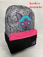 """Повседневный рюкзак для девушек""""Miqini'.Высота 41 см, ширина 29 см, глубина 15 см., фото 1"""