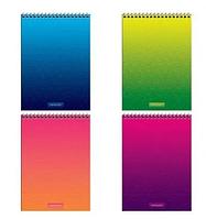 """Блокнот ArtSpace """"Моноколор. Bright modern"""" на спирали, А5, 80 листов в клетку, твердая подложка"""