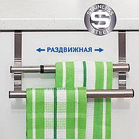 Tatkraft DOUBLE Раздвижная планка для полотенец 16644