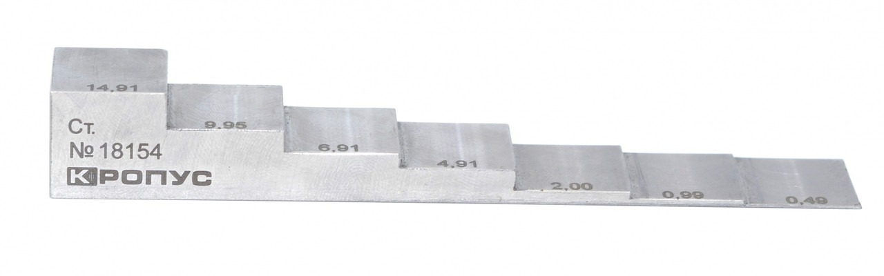 Образец - ступенька, 10-100мм, сталь