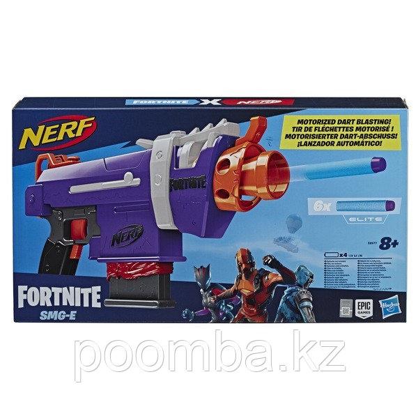 Бластер Nerf (Нёрф) Fortnite Фортнайт SMG-E - фото 1