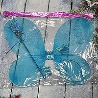 Крылья бабочки с палочкой и ободком