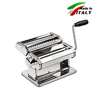 Ручная лапшерезка - тестораскатка Girmi IM90 механическая машинка для раскатки теста и нарезки лапши Италия, фото 1