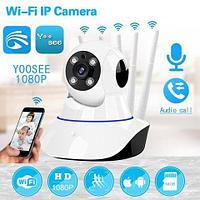 IP-камера поворотная YOOSEE 5x Extra range {SD-карта, FHD 1080p, Wi-Fi, ночное видение}