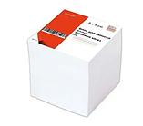 Блок для записей KUVERT белый 9х9х9 см