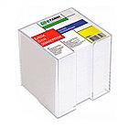 Блок для записей СТАММ белый в подставке 9х9х9 см