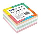 Блок для записей OfficeSpace цветной 8х8х4 см