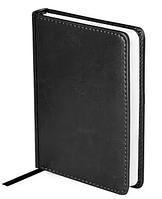 """Ежедневник OfficeSpace """"Nebraska"""" А5, недатированный, 272 страницы, черный"""