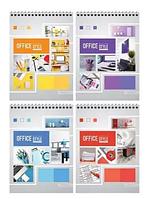 "Блокнот ArtSpace ""Офис. Яркие краски"" на спирали, А5, 40 листов в клетку"