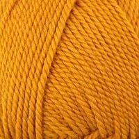 Пряжа 'Мериносовая' 50меринос.шерсть, 50 акрил 200м/100гр(447-Горчица)