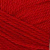 Пряжа 'Мериносовая' 50меринос.шерсть, 50 акрил 200м/100гр(06-Красный)