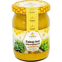 Мед гречишно-подсолнечниковый 350 г.