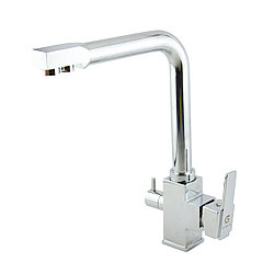 Смеситель для кухонной мойки с подключением фильтра для воды