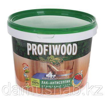 Лак антисептик для бань и саун влагостойкая,полиакрил 0,9 кг