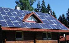Гибридное солнечная электростанция на 2 кВт