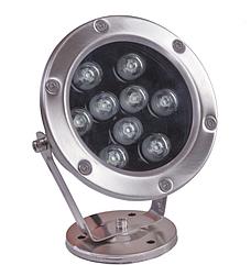 Подвесной прожектор LED F6008 RGB 9W 24V (TS)