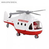 Вертолёт - скорая помощь «Альфа», в сетке