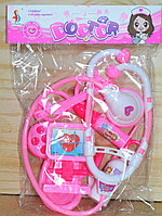 SD169 Мед набор Doctor в пакете розовый 25*19см
